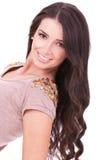 Big Smile And Long Beautiful Hair Stock Image