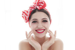 Big smile girl Royalty Free Stock Images