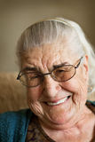 Big smile from grandmother Royalty Free Stock Photo