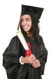 Big Smile Hispanic College Graduate Stock Photos