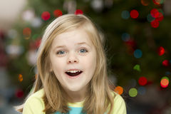 Big smile little girl Stock Photography
