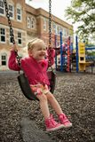 Big Smile Swing Royalty Free Stock Images