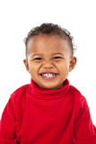Big Smiling Adorable African American Boy Stock Images