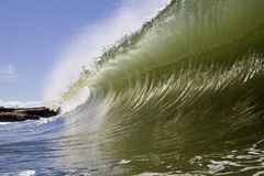 Big smooth wave Stock Photography