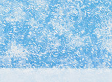 Big snowfall backgrounds. white snow ground Stock Photo