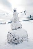 A big snowman Stock Photo