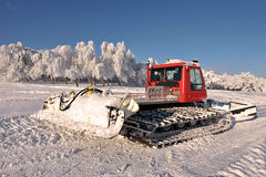 Big snowplow Royalty Free Stock Image