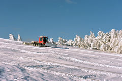 Big snowplow Royalty Free Stock Photo