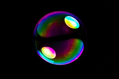 Big soapbubble Stock Photos