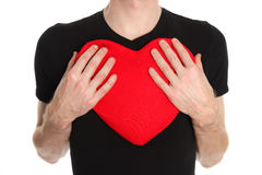 Big soft heart Royalty Free Stock Photography