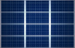 Big Solar Panel Background Stock Images