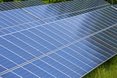 Big solar panels Royalty Free Stock Images