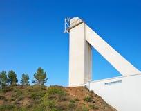 Big solar vacuum telescope Royalty Free Stock Photo