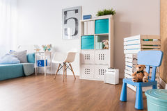 Big space for playing in room Royalty Free Stock Photos