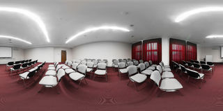Big and spacious conference room Royalty Free Stock Photo
