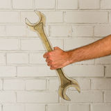 Big spanner Stock Images