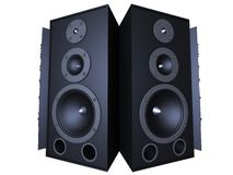 Big speaker Stock Images