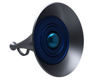 Big speaker Stock Image