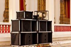 Big speaker Stock Image