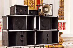 Big speaker Stock Photos