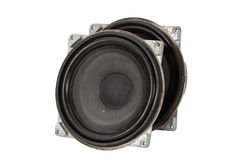 Big speakers (isolated) Stock Images