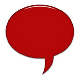 Big Speech Bubble. Created in Paint Shop Pro Royalty Free Stock Image