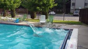 Big splash Stock Image