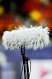 Big sport microphone Stock Photography