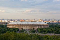 Big sports arena Luzhniki Stock Image