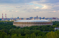 Big sports arena Luzhniki Royalty Free Stock Photos
