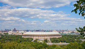 Big sports arena in Luzhniki, Moscow Stock Photos