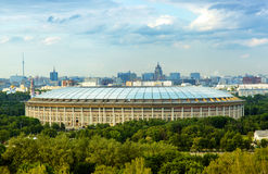 Big sports arena in Luzhniki, Moscow Royalty Free Stock Photo