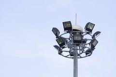 Big spotlight pole Royalty Free Stock Images