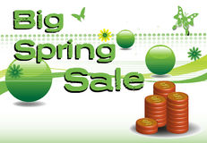Big spring sale Royalty Free Stock Photos