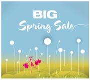 Big Spring Sale Stock Images
