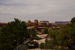 Big Springs Canyon Overlook A Stock Photography