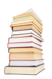 Big stack of books Stock Image