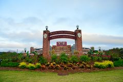 Big stadium. At Florida State University Stock Photos