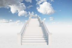 Big stairs Stock Photo