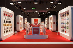 A big stand at Macef home show in Milan Royalty Free Stock Photo