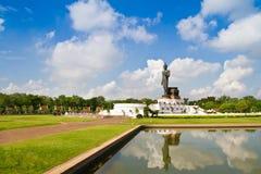 Big standing buddha statue Royalty Free Stock Photography