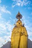 Big Standing Buddha at Wat Intharawihan temple, Bangkok Stock Image