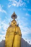 Big Standing Buddha at Wat Intharawihan temple, Bangkok Stock Images