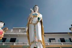 Big Standing Guan Yin statue,Wat Khao Tao in Thailand. Stock Images