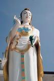Big Standing Guan Yin statue,Wat Khao Tao in Thailand. Royalty Free Stock Image