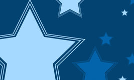 Big star design background collection. Vector illustration Royalty Free Stock Image