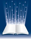 Big stars book Royalty Free Stock Image