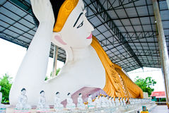 Big Statue Buddha in Thailand. The Big Statue Buddha in Thailand Royalty Free Stock Photos