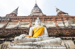 Big Statue of Buddha in Thailand Royalty Free Stock Photos