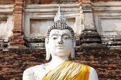 Big Statue of Buddha in Thailand Stock Photo